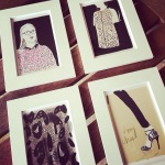 Fashion Illustration Postcards by Open Toe